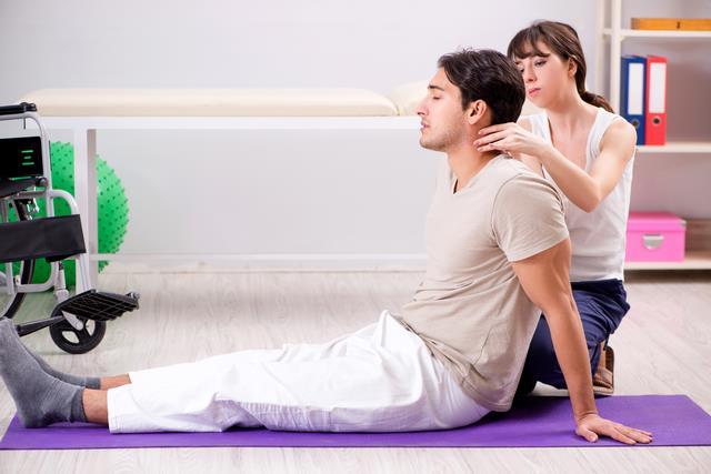 массаж при остехондрозе
